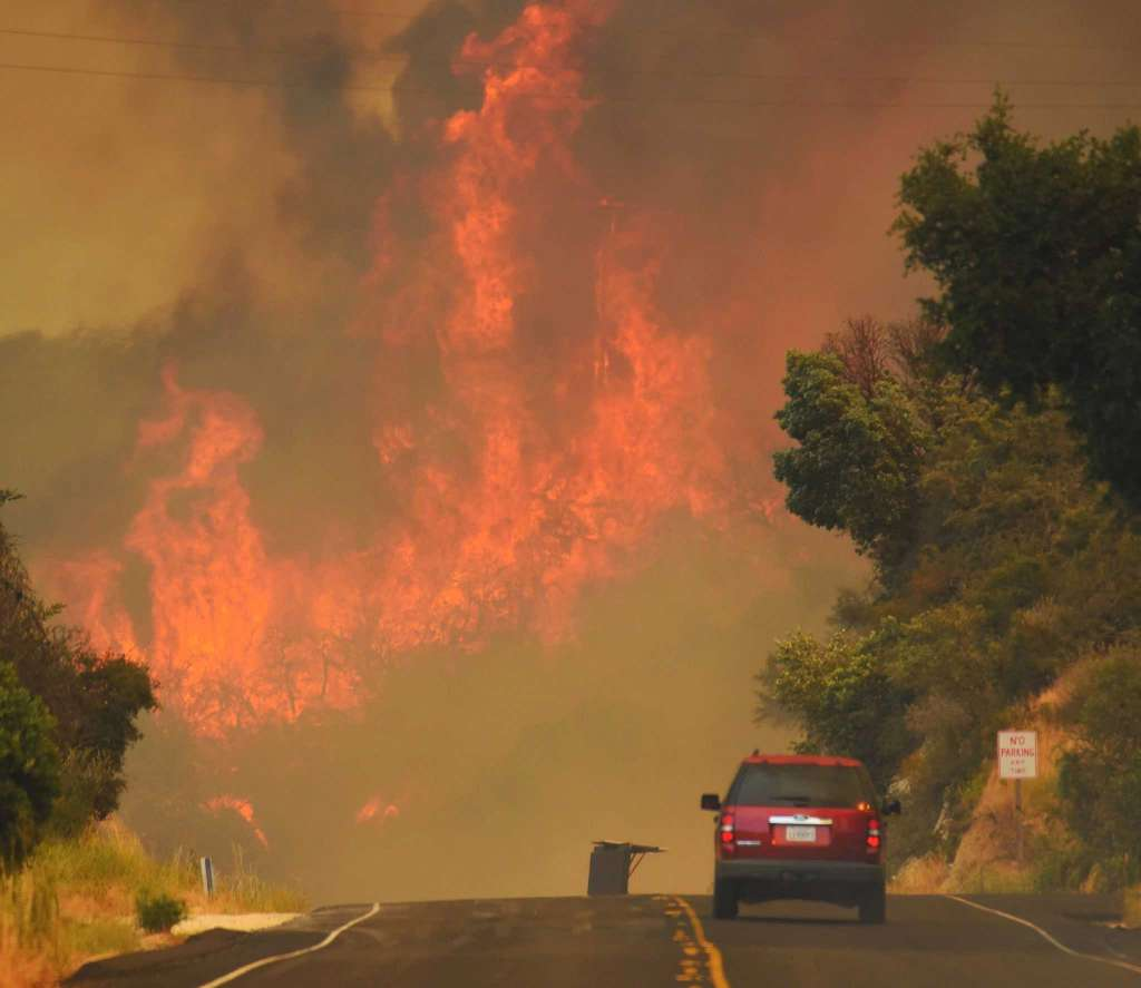 Weather conditions in California are  ..........   ........... kind for fire disaster.