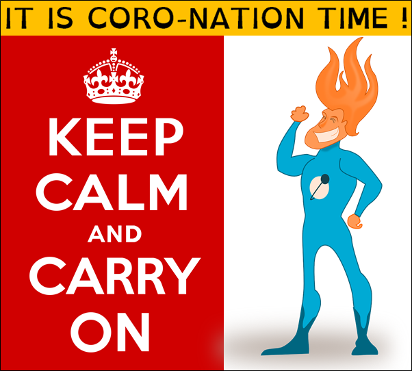 Coro nation keep calm